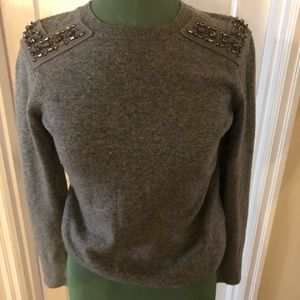 J Crew with cashmere sweater